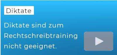 """blauer Hintergrund, darauf der Text """"Diktate"""""""